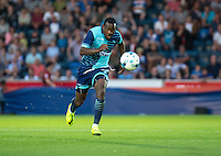 Myles Weston of Wycombe Wanderers during the Pre-Season Friendly match between Wycombe Wanderers and Queens Park Rangers at Adams Park, High Wycombe, England on the 22nd July 2016. Photo by Liam McAvoy / PRiME Media Images.