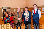 Lecture: Pictured at the Kerry Writer's Museum, Listowel fot Thomas Dillon's lecture on John Fitzgerald, Knight of Kerry were Sir Adrian Fitzgerald, Knight of Kerry, Cara Trant, Manager Kerry Writer's Museum & Thomas Dillon, Historian who gave the lecture.