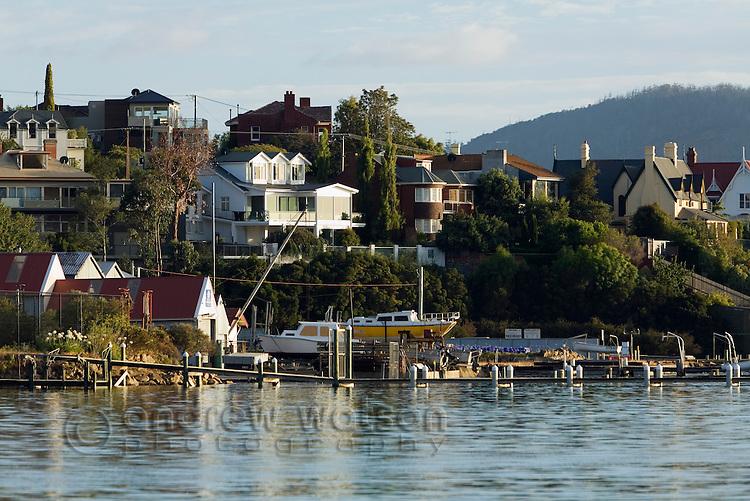 Waterfront living at Sandy Bay, Hobart, Tasmania, Australia