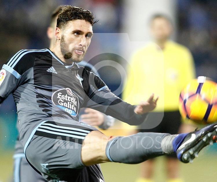 Celta de Vigo's Sergi Gomez during La Liga match. January 28,2017. (ALTERPHOTOS/Acero)