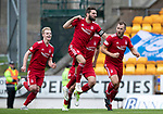 St Johnstone v Aberdeen&hellip;15.09.18&hellip;   McDiarmid Park     SPFL<br />Niall McGinn celebrates his goal<br />Picture by Graeme Hart. <br />Copyright Perthshire Picture Agency<br />Tel: 01738 623350  Mobile: 07990 594431