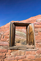 Window upon the desert, Lees Ferry Arizona