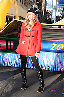 NEW YORK, NY - NOVEMBER 22: Jennette McCurdy at the 86th Annual Macy's Thanksgiving Day Parade on November 22, 2012 in New York City. Credit: RW/MediaPunch Inc. /NortePhoto