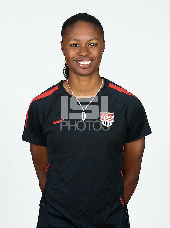 Carson, California - Thursday April 12, 2012: .USA Women's National Team U-20 Portraits.