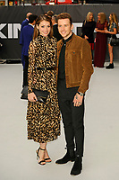 LONDON, ENGLAND - SEPTEMBER 12: Georgia Horsley and Danny Jones attending the World Premiere of 'King Of Thieves' at Vue West End, Leicester Square on September 12, 2018 in London, England.<br /> CAP/MAR<br /> &copy;MAR/Capital Pictures