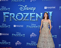 "LOS ANGELES, USA. November 08, 2019: Evan Rachel Wood at the world premiere for Disney's ""Frozen 2"" at the Dolby Theatre.<br /> Picture: Paul Smith/Featureflash"