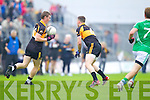 Greg Horan Austin Stacks in action against Saint Kierans in the Quarter Finals of the County Championship at Austin Stack Park on Sunday.