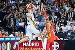 Spain vs Lithuania friendly match in Pamplona. August 2, 2019. (ALTERPHOTOS/Francis González)