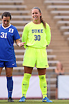 21 August 2015: Duke's EJ Proctor. The Duke University Blue Devils played the Fresno State Bulldogs at Fetzer Field in Chapel Hill, NC in a 2015 NCAA Division I Women's Soccer game. Duke won the game 5-0.