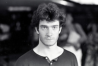 August 23, 1987 File Photo - Montreal (Qc) Canada - French <br /> actor Thierry Fremont <br /> Thierry Frémont (born 12 July 1962) is a French actor. He has appeared in over 65 films and television shows since 1984. He starred in the 1991 film Fortune Express, which was entered into the 41st Berlin International Film Festival.