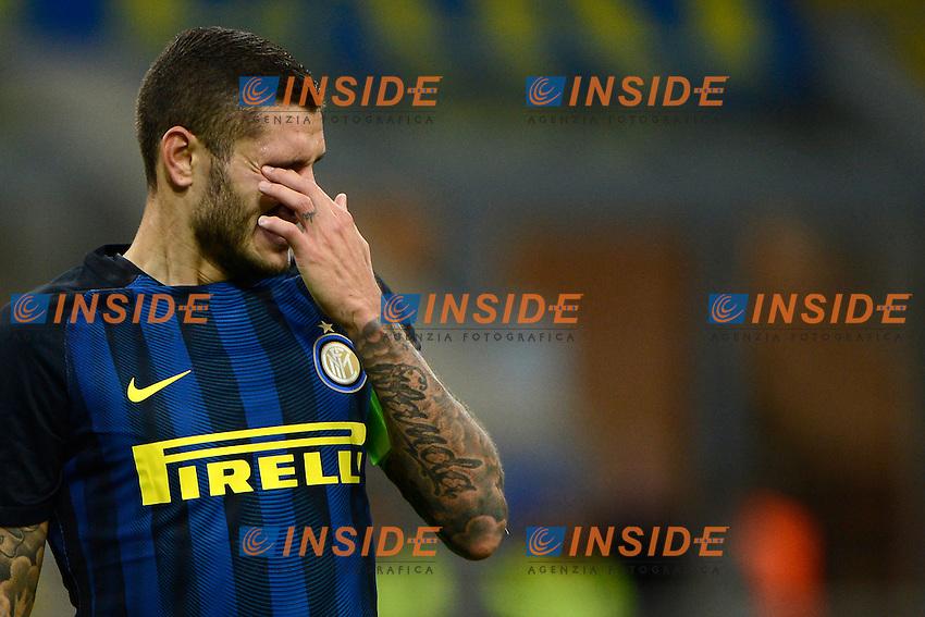 Mauro Icardi Inter<br /> Milano 20-10-2016 Stadio Giuseppe Meazza - Football Calcio Europa League Inter - Southampton. Foto Giuseppe Celeste / Insidefoto