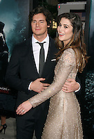 Benjamin Walker and Mary Elizabeth Winstead at the premiere of Abraham Lincoln: Vampire  Hunter at AMC Loews Lincoln Square in New York City. June 18, 2012. © RW/MediaPunch Inc. NORTEPHOTO.COM<br />