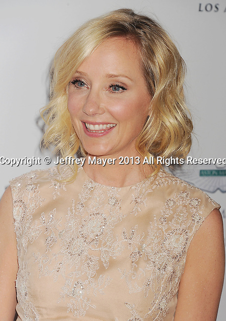 CENTURY CITY, CA- MAY 03: Actress Anne Heche arrives at the 20th Annual Race To Erase MS Gala 'Love To Erase MS' at the Hyatt Regency Century Plaza on May 3, 2013 in Century City, California.