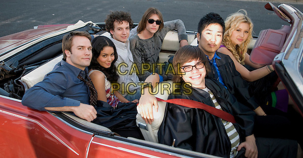 (back row l-r): SCOTT PORTER, VANESSA HUDGENS, GAELAN CONNELL & RYAN DONOWHO (front row l-r) CHARLIE SAXTON, TIM JO & ALYSON MICHALKA.in Bandslam.*Filmstill - Editorial Use Only*.CAP/FB.Supplied by Capital Pictures.