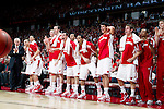 Wisconsin Badgers react to a Ryan Evans (5) dunk during a Big Ten Conference NCAA college basketball game against the Illinois Fighting Illini on Sunday, March 4, 2012 in Madison, Wisconsin. The Badgers won 70-56. (Photo by David Stluka)