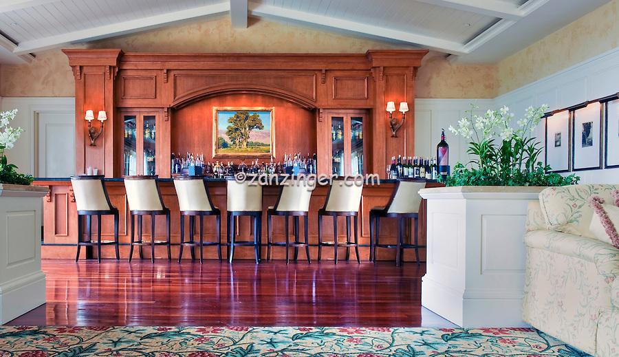 Montage Hotel Bar Lounge, Laguna Beach, CA, seaside resort, artist community, located in southern, Orange County, California, United States