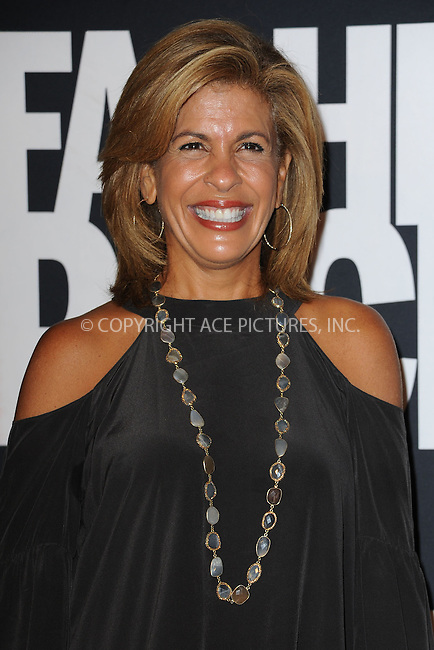 WWW.ACEPIXS.COM<br /> September 9, 2014 New York City<br /> <br /> Hoda Kotb attending Fashion Rocks 2014 at the Barclays Center September 9, 2014 in New York City.<br /> <br /> Please byline: Kristin Callahan/AcePictures<br /> <br /> ACEPIXS.COM<br /> <br /> Tel: (212) 243 8787 or (646) 769 0430<br /> e-mail: info@acepixs.com<br /> web: http://www.acepixs.com