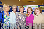 Celebrating 100yrs of the Irish Countrywomen's Association last Thursday night with the Abbeyfeale guild where an exhibition of art, craft and historical memorabilia was opened in the local library, pictured l-r: Peggy O'Neill, Vera Broderick, Anne Marie Dennison(National President), Mary Morrissey and Mary Clancy...Peggy O'Neill: 087- 9478848.