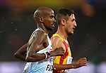 Mo Farah (GBR) in the mens 5000m heats. IAAF world athletics championships. London Olympic stadium. Queen Elizabeth Olympic park. Stratford. London. UK. 09/08/2017. ~ MANDATORY CREDIT Garry Bowden/SIPPA - NO UNAUTHORISED USE - +44 7837 394578. IAAF world athletics championships. London Olympic stadium. Queen Elizabeth Olympic park. Stratford. London. UK. 09/08/2017. ~ MANDATORY CREDIT Garry Bowden/SIPPA - NO UNAUTHORISED USE - +44 7837 394578