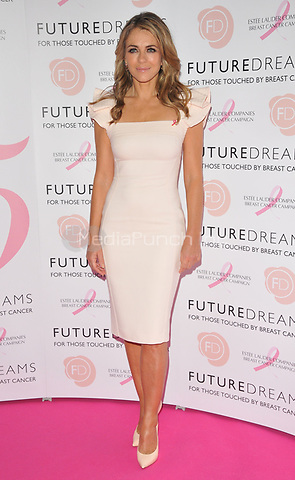 Elizabeth Hurley at the Future Dreams's &quot;United for Her&quot; fundraising charity lunch, Savoy Hotel, The Strand, London, England, UK, on Monday 09 October 2017.<br /> CAP/CAN<br /> &copy;CAN/Capital Pictures /MediaPunch ***NORTH AND SOUTH AMERICAS ONLY***