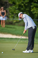 Hyo Joo Kim (KOR) watches her putt on 1 during round 4 of the 2018 KPMG Women's PGA Championship, Kemper Lakes Golf Club, at Kildeer, Illinois, USA. 7/1/2018.<br /> Picture: Golffile | Ken Murray<br /> <br /> All photo usage must carry mandatory copyright credit (&copy; Golffile | Ken Murray)