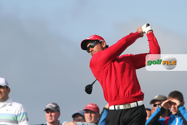 Rafael Cabrera-Bello (ESP) on the 12th on Day 2 of the 2012 Irish Open at Royal Portrush Golf Club, Portrush, Co.Antrim, 29/6/12...(Photo Jenny Matthews/www.golffile.ie)