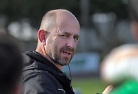 Turbos coach Peter Russell during the Mitre 10 Cup preseason rugby match between the Wellington Lions and Manawatu Turbos at Levin Domain in Levin, New Zealand on Monday, 3 June 2019. Photo: Dave Lintott / lintottphoto.co.nz
