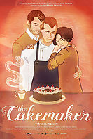 The Cakemaker (2017)   <br /> AMERICAN POSTER ART<br /> *Filmstill - Editorial Use Only*<br /> CAP/FB<br /> Image supplied by Capital Pictures