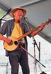 "July 30, 2011 Newport, R.I.: Singer / Musician Pete Seeger performs ""2011 Newport Folk Festival"" at Fort Adams on July 30, 2011 in Newport, R.I."