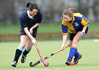 Upminster HC Ladies 2nd XI vs Billericay HC Ladies 1st XI 27-01-07