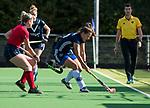 AMSTELVEEN  -  Alma Fenne (Pin) , hoofdklasse hockeywedstrijd dames Pinole-Laren (1-3). COPYRIGHT  KOEN SUYK