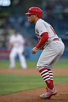 05/25/17 Los Angeles, CA: St. Louis Cardinals second baseman Kolten Wong #16 during an MLB game between the Los Angeles Dodgers and the St Louis Cardinals played at Dodger Stadium.