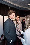 "WASHINGTON, DC - JANUARY 13: Bradley Cooper and Taya Kyle attend the Washington, DC premiere of ""American Sniper"" at the Burke Theatre at the U.S. Navy Memorial on January 13, 2015 in Washington, D.C. Photo Credit: Morris Melvin / Retna Ltd."