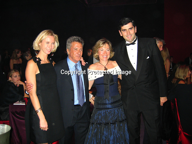 Dustin Hoffman with Louis Vuitton Sponsors<br />