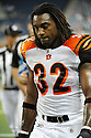 CEDRIC BENSON, of the Cincinnati Bengals in action during the Bengals game against the Detroit Lion on August 12, 2011 at Ford Field in Detroit, Michigan. The Lions beat the Bengals 34-3.