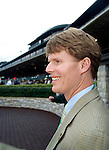 Rob Samuels, president and ceo of maker's mark, at the keenland race track in Lexington, ky.