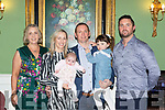 Louisa McMahon, Glenflesk, celebrated her christening with her parents Brendan and Maria, her big sister Emily and gos parents Fionnuala O'Connor and Niall McMahon in the Dromhall Hotel on Saturday