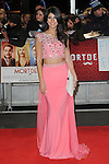 NON EXCLUSIVE PICTURE: PAUL TREADWAY / MATRIXPICTURES.CO.UK<br /> PLEASE CREDIT ALL USES<br /> <br /> WORLD RIGHTS<br /> <br /> The Only Way Is Essex reality television personality, Jasmin Walia attending the UK Premiere of Mortdecai at Empire Leicester Square, in London.<br /> <br /> JANUARY 19th 2015<br /> <br /> REF: PTY 15171