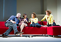 Passion Play by Peter Nichols, directed by David Leveaux. With Owen Teale as James, ,Annabel Scholey as Kate, Zoe Wanamaker as Eleanor,  Samantha Bond as Nell,  . Opens at The Duke of York's Theatre on 7/5/13. CREDIT Geraint Lewis