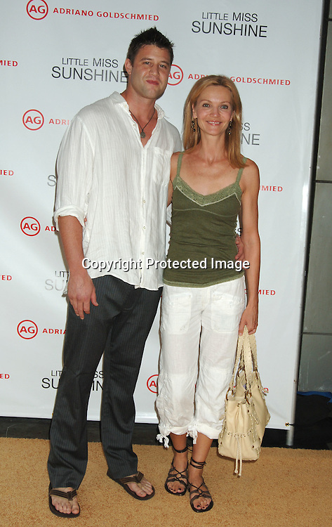 "Josh Stolz and Joan Allen..at The New York Premiere of ""Little Miss Sunshine"" starring ..Greg Kinnear, Toni Collette and Abigail Breslin on July 25, 2006 at The AMC LoewsLincoln Theatre. ..Robin Platzer, Twin Images"