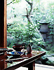 Minoko Teahouse, 1st course of meal - with garden aspect.