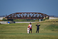 Ruixin Liu (CHN) looks over her approach shot on 2 during the round 3 of the Volunteers of America Texas Classic, the Old American Golf Club, The Colony, Texas, USA. 10/5/2019.<br /> Picture: Golffile   Ken Murray<br /> <br /> <br /> All photo usage must carry mandatory copyright credit (© Golffile   Ken Murray)