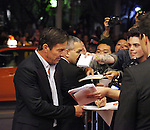 Dennis Quaid & Fans attending the The 2012 Toronto International Film Festival.Red Carpet Arrivals for 'At Any Price' at the Princess of Wales Theatre in Toronto on 9/9/2012