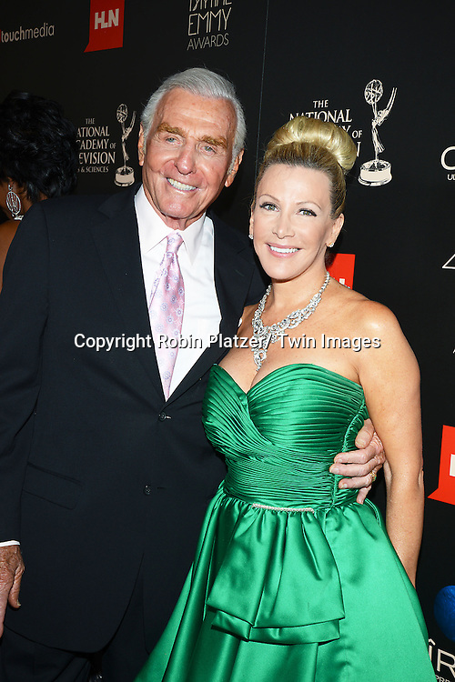 Jerry Douglas and wife Kym Douglas attends The 40th Annual Daytime Emmy Awards on<br />  June 16, 2013 at the Beverly Hilton Hotel in Beverly Hills, California.