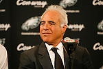 Philadelphia Eagles Owner Jeffrey Lurie looks on during a press conference announcing Randall Cunningham and Al Wistert's induction into The Eagles Honor Roll before the NFL game between the Kansas City Chiefs and the Philadelphia Eagles on September 27th 2009. The Eagles won 34-14 at Lincoln Financial Field in Philadelphia, Pennsylvania. (Photo by Brian Garfinkel)