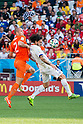 Ron Vlaar (NED), Mauricio Pinilla (CHI), JUNE 23, 2014 - Football / Soccer : FIFA World Cup Brazil 2014 Group B match between Netherlands 2-0 Chile at Arena de Sao Paulo Stadium in Sao Paulo, Brazil. (Photo by Maurizio Borsari/AFLO)