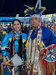Monica Radtke/Sigalia and Dennis Sigalia during the Stewart Father's Day Pow Wow in Carson City on Friday, June 16, 2017.