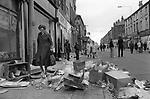 Toxteth Liverpool after riots. July 1981 Toxteth riots 1981