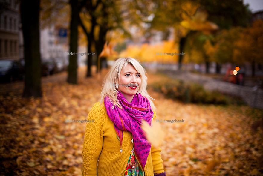Oslo, 24.10.2012. Alexandra Archetti Stølen er leder av Oslo World Musci Festival. Foto: Christopher Olssøn.
