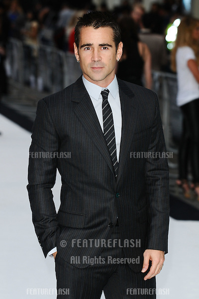 Colin Farrell arriving for the Total Recall Premiere, at Vue West End, Leicester Square, London. 16/08/2012 Picture by: Steve Vas / Featureflash